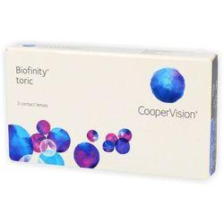 Biofinity toric 3 szt. wyprodukowany przez Cooper vision