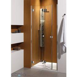 Drzwi wnękowe 80 Carena DWB Radaway (34512-01-01NR) z kategorii Drzwi prysznicowe