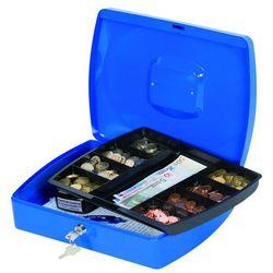 Kasetka na pieniądze , ekstra duża, 325x85x235mm, niebieska marki Q-connect