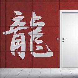 Deco-strefa – dekoracje w dobrym stylu Japoński smok 754 szablon malarski