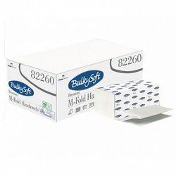 Bulkysoft Ręcznik papierowy składany m premium 3 warstwy 2500 szt. biały celuloza (8018426822603)