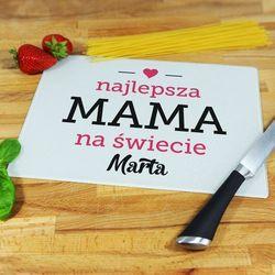 Najlepsza Mama - deska do krojenia - Deska średnia 25 na 20 cm