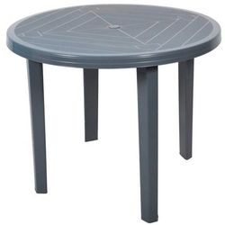 Obi Stół opal okrągły fi 90 cm szary