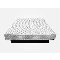 Beliani Pokrowiec na materac do łóżka wodnego - pokrowiec na materac - pokrowiec na łóżko 180x200cm zamk