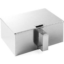 Hendi Pojemnik na popiół - stal nierdzewna | 210x140x90 mm