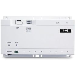 Bcs -sp06 switch poe do systemu wideodomofonowego ip