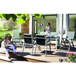 Fotel wielopozycyjny ogrodowy Kettler FORMA Srebrny - oferta [c553682c15b58776]