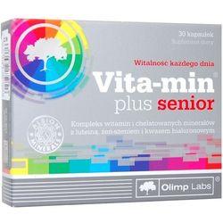 Olimp Vita-Min Plus Senior kaps. - 30 kaps. (lek witaminy i minerały)