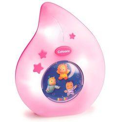 cotoons lampka nocna różowa marki Smoby
