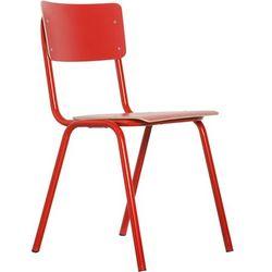 Zuiver Krzesło BACK TO SCHOOL HPL czerwone 1008207, 1008207