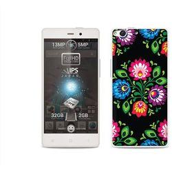 Etuo.pl Fantastic case - allview x1 soul - etui na telefon fantastic case - czarna łowicka wycinanka