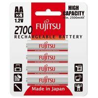 4 x akumulatorki  r6/aa 2700mah hr-3uaex (blister), marki Fujitsu