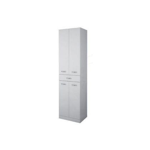 Elita Aqua Line słupek łazienkowy 50x35,5x187 wysoki biały 164013 - produkt z kategorii- regały łazienkow