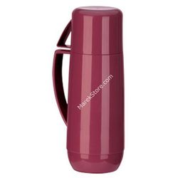 Tescoma Termos z kubkiem - pojemność 1 litr |  family - odcienie czerwieni