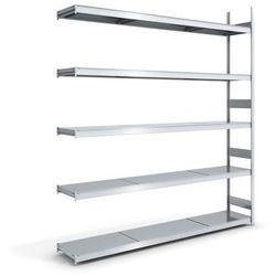 Hofe Regał wtykowy o dużej pojemności z półkami stalowymi,wys. 3000 mm, szer. półki 2500 mm