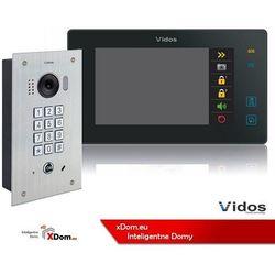 Zestaw wideodomofonu cyfrowego z szyfratorem duo s1411d_m1021b marki Vidos