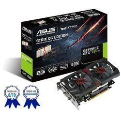 ASUS GeForce GTX 750 Ti OC, 2GB GDDR5 (128 Bit), HDMI, DVI, DP (karta graficzna)