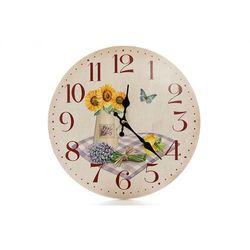 Zegar wiszący na ścianę lawenda do powieszenia marki Home