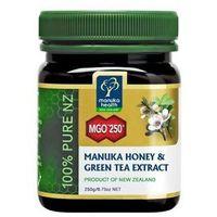 Miód Manuka 250+ z ekstraktem z zielonej herbaty 250g