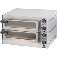 Piec do Pizzy - Jednokomorowy - 410x370x90mm | 2000W