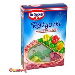 Różyczki opłatki kolorowe 6 sztuk Dr. Oetker, kup u jednego z partnerów