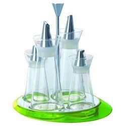 - glamour - zestaw do przypraw - zielony - zielony marki Casa bugatti