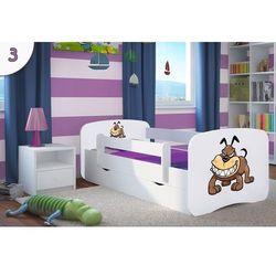 Łóżko dziecięce babydreams - buldog - kolory negocjuj cenę marki Kocot-meble