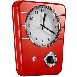 Wesco Zegar z minutnikiem classic czerwony