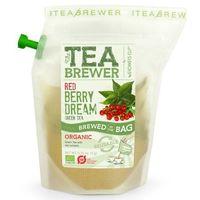 Growers cup Herbata zielona z czerwoną porzeczką 7g - teabrewer eko