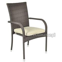 Krzesło ogrodowe z technorattanu MALAGA 6+1, TopGarden z eDomator.pl