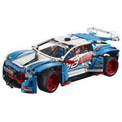 42077 NIEBIESKA WYŚCIGÓWKA (Rally Car) KLOCKI LEGO TECHNIC