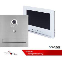 Vidos Zestaw s551-skm skrzynka na listy z wideodomofonem, monitor 7'' wideodomofonu m690ws2