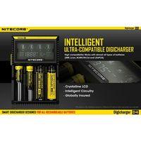 Nitecore D4 - ładowarka do akumulatorków z kategorii Ładowarki do akumulatorów