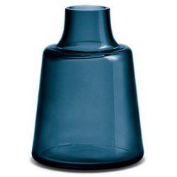 Szklany wazon Flora, niebieski, średni - HolmeGaard