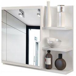 Lustro łazienkowe Lexi 2X - białe, LUMO PRAWE BIEL