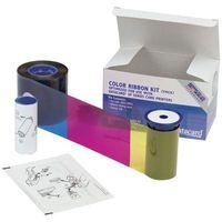Kolorowa taśma barwiąca YMCKT do drukarek kart plastikowych Datacard (250)