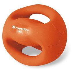 Piłka lekarska z uchwytami Grab Me 2 kg Insportline - 2 kg