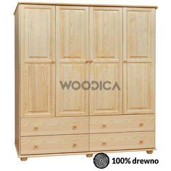 Woodica 15.szafa 4d4s 200x190x60