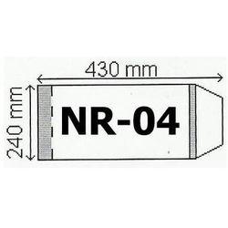 Okładka na podr B5 regulowana nr 4 (50szt) NARNIA oferta ze sklepu InBook.pl