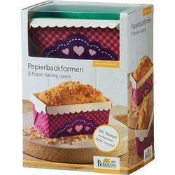 Keksówki papierowe my little bakery  8 sztuk marki Birkmann
