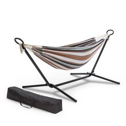 sri lanka swing, hamak rama stalowa, 160 kg maks., wzór w paski marki Blumfeldt