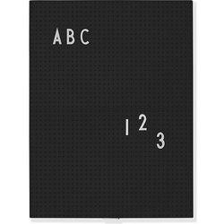 Design letters Tablica a4 czarna