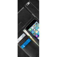 Puro  booklet wallet case - etui iphone 7 z kieszeniami na karty (czarny) (8033830173950)