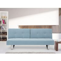 Rozkładana sofa ruchome oparcie - DUBLIN miętowy, kolor zielony