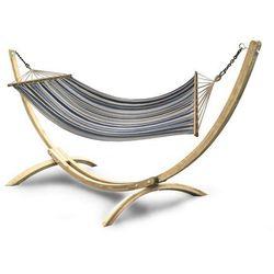 Hamak ze stojakiem drewnianym Double Relax 2os.