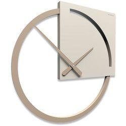 Zegar ścienny karl  lniany marki Calleadesign
