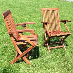 Fotele Ogrodowe Akacja 2szt - Meble CALABRIA 58x94x54,5cm - sprawdź w wybranym sklepie