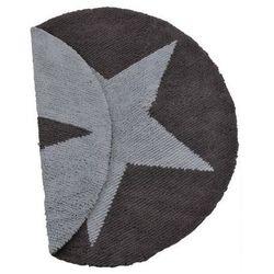 Dwustronny dywan do prania w pralce gwiazda niebieska, marki Lorena canals