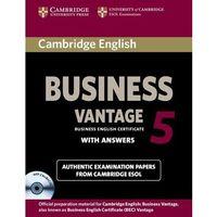 Cambridge English Business 5 Vantage Self-Study (9781107606937)