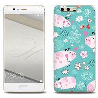 Fantastic Case - Huawei P10 Plus - etui na telefon Fantastic Case - różowe świnki